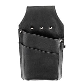 waiter wallet quiver split cowhide leather black  L 145 mm product photo