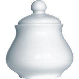 Wersal lidded sugar bowl MILANO 200 ml porcelain with lid  Ø 90 mm  H 113 mm product photo