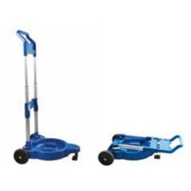 trolley 2 fixed rolls 2 braked castors 395 mm  x 500 mm  H 660 mm product photo