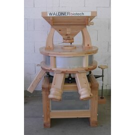 East Tyrolean flour mill GM 70 400 volts wood • grinder made of Naxos product photo