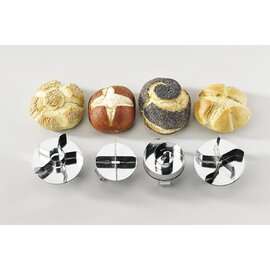 bread roll stamp Kaiser roll  with hole product photo